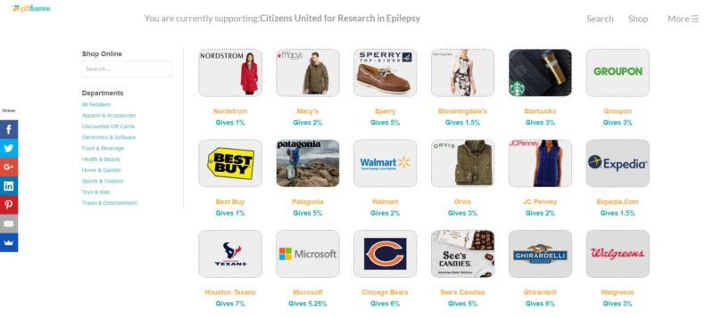giftfluence_shopping_example